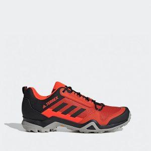 נעלי טיולים אדידס לגברים Adidas Terrex AX3 - אדום