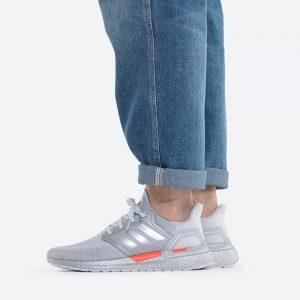 נעלי ריצה אדידס לגברים Adidas Ultraboost 20 Dna Space Race - אפור