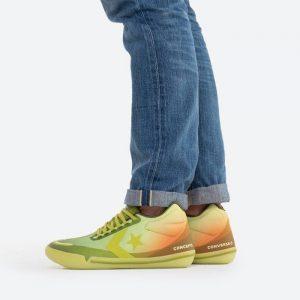 נעלי סניקרס קונברס לגברים Converse x Concepts All Star BB Evo Southern Flame - ירוק