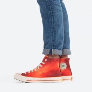 נעלי סניקרס קונברס לגברים Converse x Concepts Chuck 70 Southern Flame - אדום