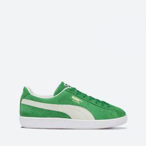 נעלי סניקרס פומה לגברים PUMA Suede Teams Amazon - ירוק