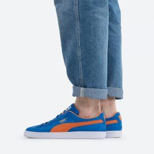 נעלי סניקרס פומה לגברים PUMA Suede Teams Prism - כחול