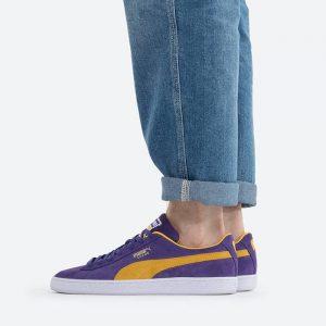 נעלי סניקרס פומה לגברים PUMA Suede Teams Prism - סגול
