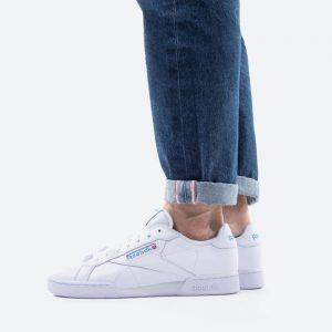 נעלי סניקרס ריבוק לגברים Reebok Workout Npc UK II - לבן