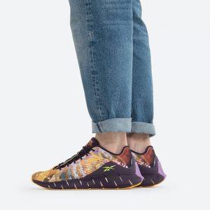 נעלי סניקרס ריבוק לגברים Reebok x Kung Fu Panda Zig Kinetica - צבעוני