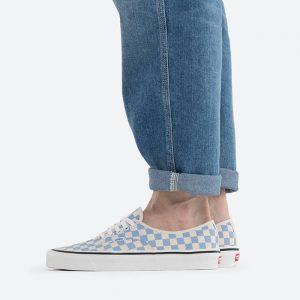 נעלי סניקרס ואנס לגברים Vans Anaheim UA Authentic 44 DX - לבן