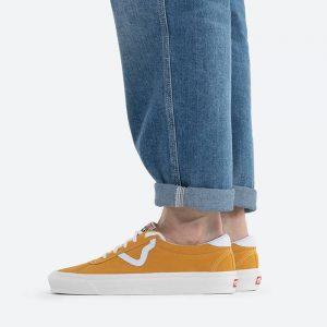 נעלי סניקרס ואנס לגברים Vans Anaheim UA Style 73 DX - צהוב