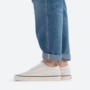 נעלי סניקרס ואנס לגברים Vans UA Old Skool Anaheim 36 DX - לבן