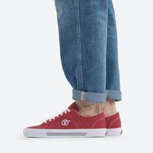 נעלי סניקרס ואנס לגברים Vans UA Sid - אדום