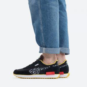 נעלי סניקרס פומה לגברים PUMA x Peanuts Future Rider - שחור