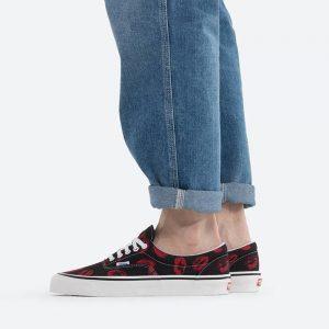 נעלי סניקרס ואנס לגברים Vans Anaheim Era 95 Dx - אדום