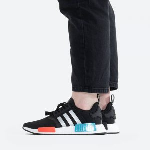 נעלי סניקרס אדידס לנשים Adidas Originals NMD_R1 - שחור