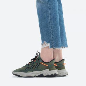 נעלי סניקרס אדידס לנשים Adidas Originals Ozweego - ירוק