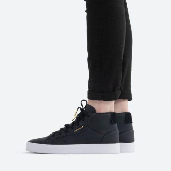 נעלי סניקרס אדידס לנשים Adidas Originals Sleek Mid - שחור