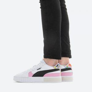 נעלי סניקרס פומה לנשים PUMA Cali Star International Game Wns - לבן
