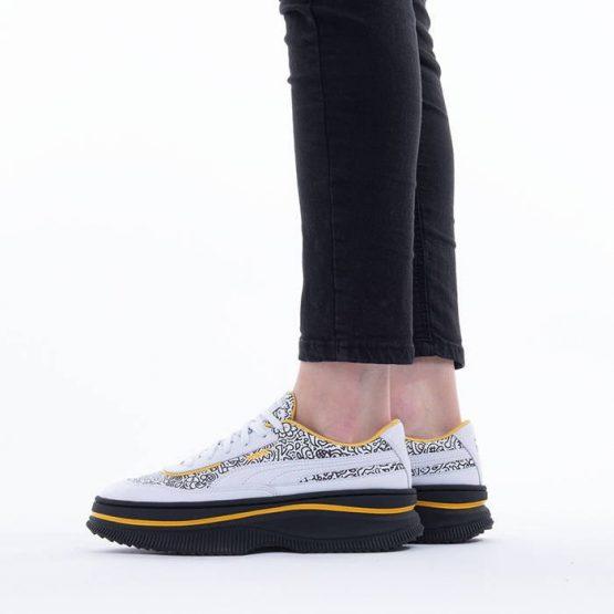 נעלי סניקרס פומה לנשים PUMA x Mr Doodle Deva - לבן