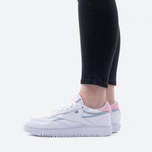 נעלי סניקרס ריבוק לנשים Reebok Club C Double - לבן