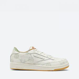 נעלי סניקרס ריבוק לנשים Reebok x Kung Fu Panda Club C 85 - לבן