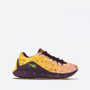 נעלי סניקרס ריבוק לנשים Reebok x Kung Fu Panda Zig Kinetica - צהוב