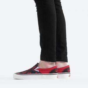 נעלי סניקרס ואנס לנשים Vans UA Classic Slip-On 9 Anaheim - שחור/אדום