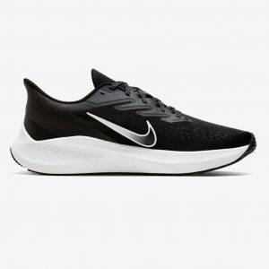 נעלי ריצה נייק לגברים Nike Air Zoom Winflo 7 - שחור/לבן