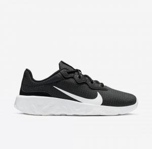 נעלי ריצה נייק לנשים Nike Explore Strada - שחור/לבן