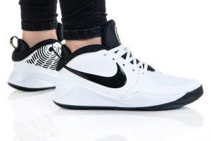 נעלי סניקרס נייק לנשים Nike TEAM HUSTLE D 9 - לבן/שחור