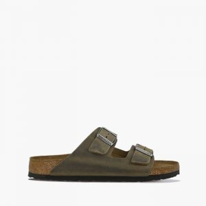 כפכפי בירקנשטוק לגברים Birkenstock Arizona - ירוק כהה