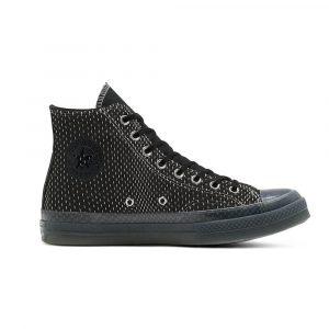 נעלי סניקרס קונברס לגברים Converse CHUCK 70 HI - שחור