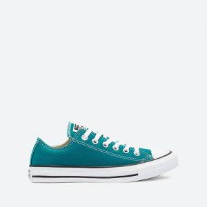 נעלי סניקרס קונברס לנשים Converse CHUCK TAYLOR ALL STAR OX - טורקיז