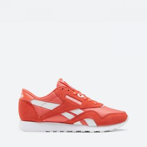 נעלי סניקרס ריבוק לנשים Reebok Cl Nylon - אדום