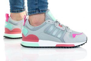 נעלי סניקרס אדידס לנשים Adidas ZX 700 HD - אפור בהיר