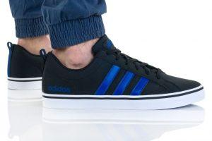 נעלי סניקרס אדידס לגברים Adidas VS PACE - שחור/תכלת