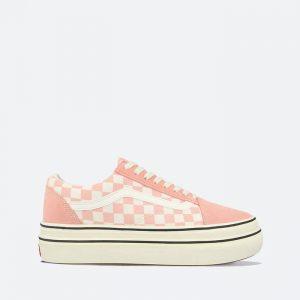 נעלי סניקרס ואנס לנשים Vans Ua Super ComfyCush Old Skool - ורוד