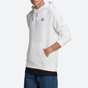 סווטשירט אדידס לגברים Adidas Originals Essential Hoody - לבן