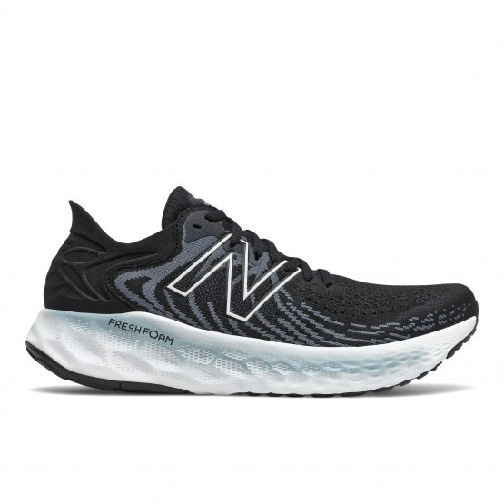 נעלי ריצה ניו באלאנס לגברים New Balance FRESH FOAM 1080V11 - שחור/לבן