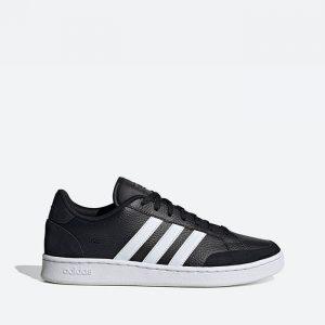 נעלי סניקרס אדידס לגברים Adidas Grand Court - שחור פחם
