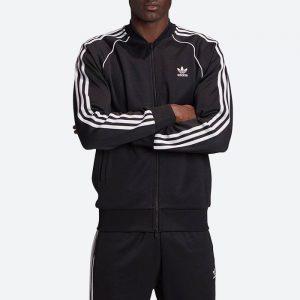 ג'קט ומעיל אדידס לגברים Adidas Originals Adicolor Classics Primeblue Firebird - שחור