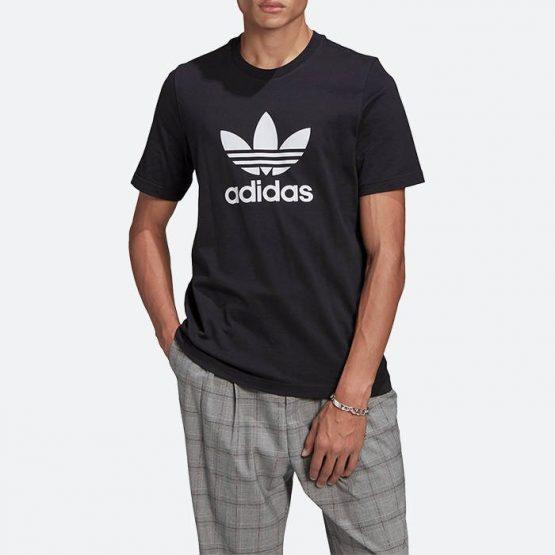 חולצת T אדידס לגברים Adidas Originals Adicolor Classics Trefoil Tee - שחור