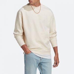 סווטשירט אדידס לגברים Adidas Originals Adicolor Premium Crew - לבן