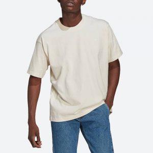 חולצת T אדידס לגברים Adidas Originals Adicolor Premium Tee - לבן