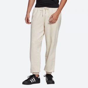 מכנסיים ארוכים אדידס לגברים Adidas Originals Adicolor Premium - לבן