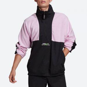 ג'קט ומעיל אדידס לגברים Adidas Originals Adventure Field - שחור