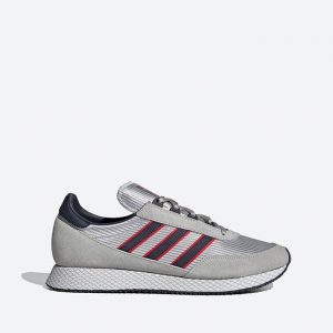 נעלי סניקרס אדידס לגברים Adidas Originals Glenbuck - אפור