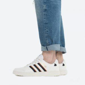 נעלי סניקרס אדידס לגברים Adidas Originals NY 90 Stripes - לבן