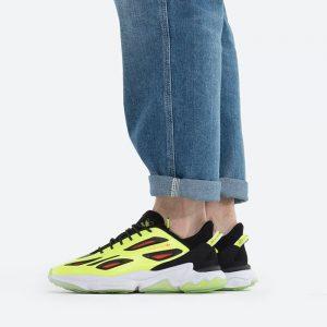 נעלי סניקרס אדידס לגברים Adidas Originals Ozweego Celox - צהוב