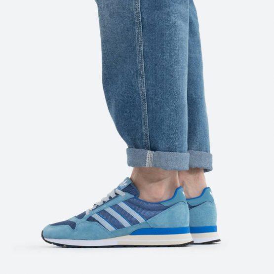 נעלי סניקרס אדידס לגברים Adidas Originals Zx 500 - כחול