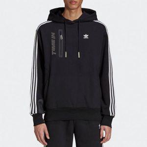 סווטשירט אדידס לגברים Adidas Originals x Ninja Time In - שחור