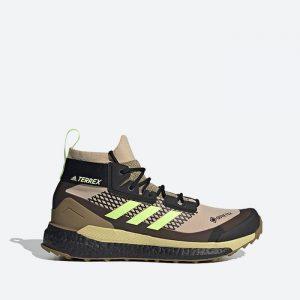 נעלי טיולים אדידס לגברים Adidas Terrex Free Hiker GTX - חום