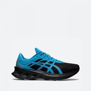 נעלי ריצה אסיקס לגברים Asics Novablast SPS - שחור/כחול